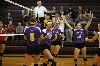 3rd Volleyball Sweeps IWU Photo