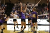 8th Volleyball Sweeps IWU Photo