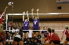 18th Volleyball Sweeps IWU Photo