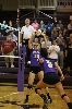 20th Volleyball Sweeps IWU Photo