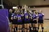 27th Volleyball Sweeps IWU Photo