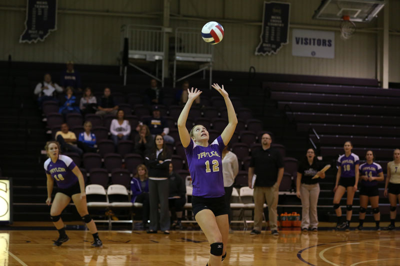 11th Volleyball Sweeps Marian Photo