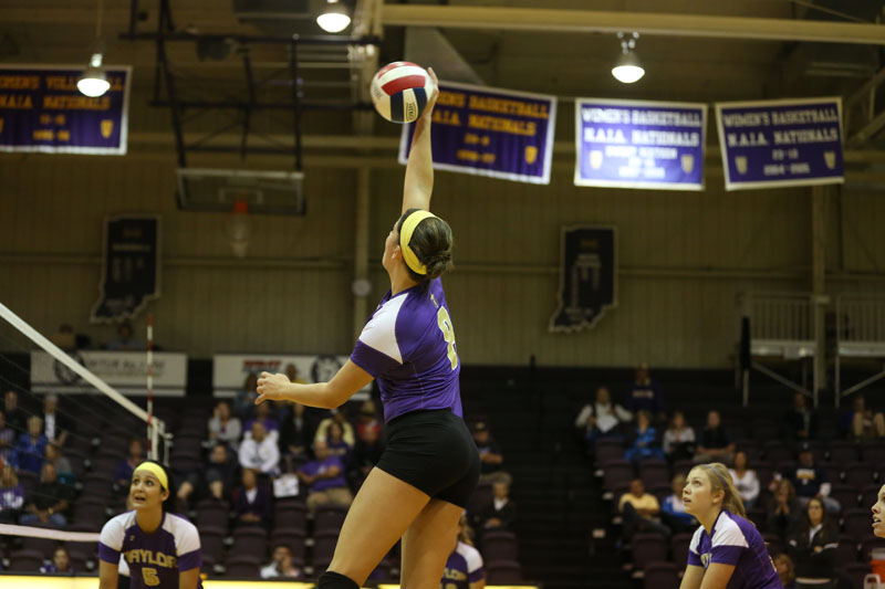 12th Volleyball Sweeps Marian Photo