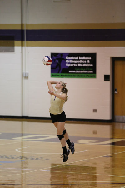 20th Volleyball Sweeps Marian Photo