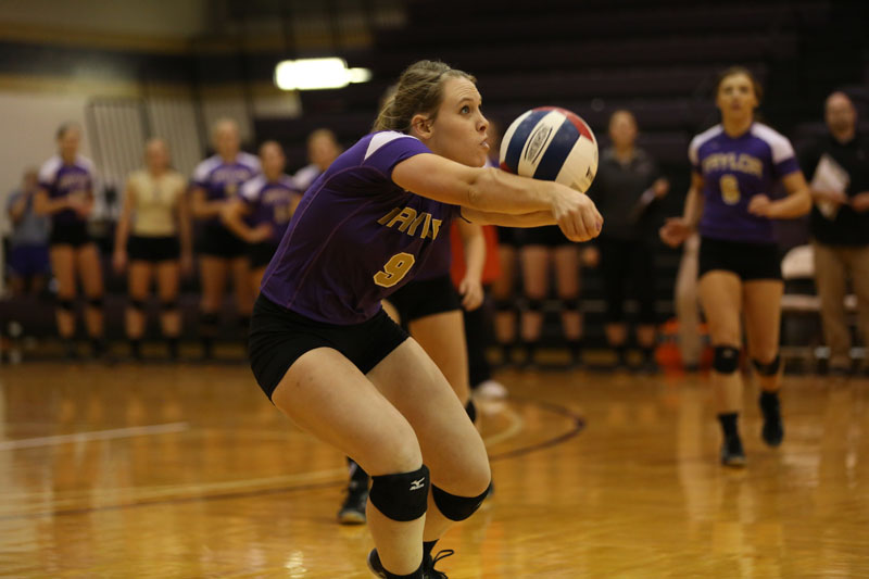 23rd Volleyball Sweeps Marian Photo
