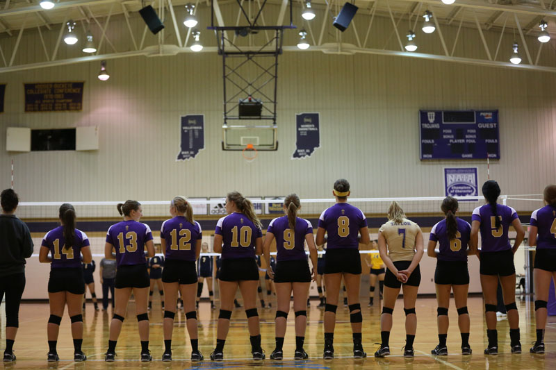 32nd Volleyball Sweeps Marian Photo