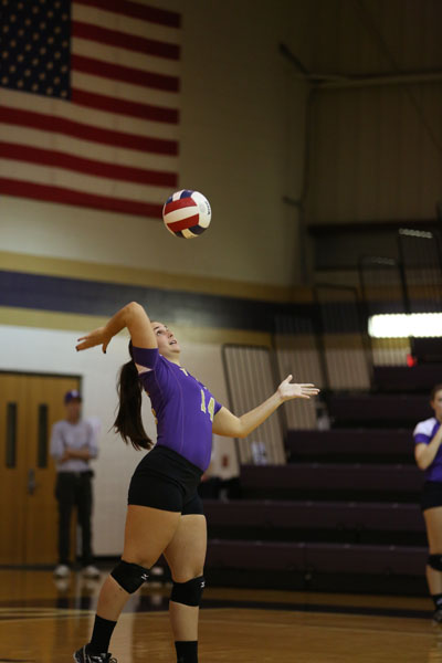39th Volleyball Sweeps Marian Photo