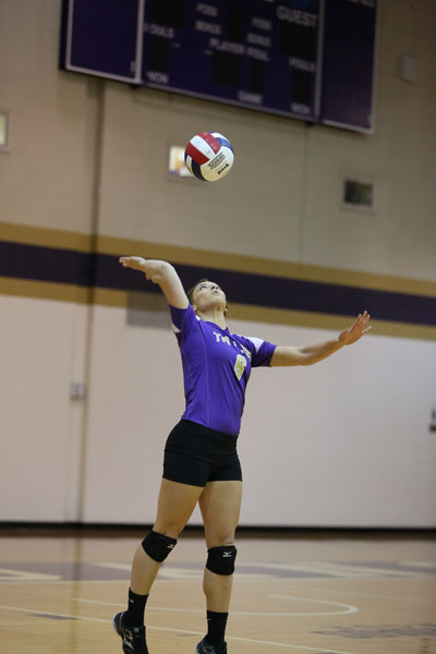 41st Volleyball Sweeps Marian Photo