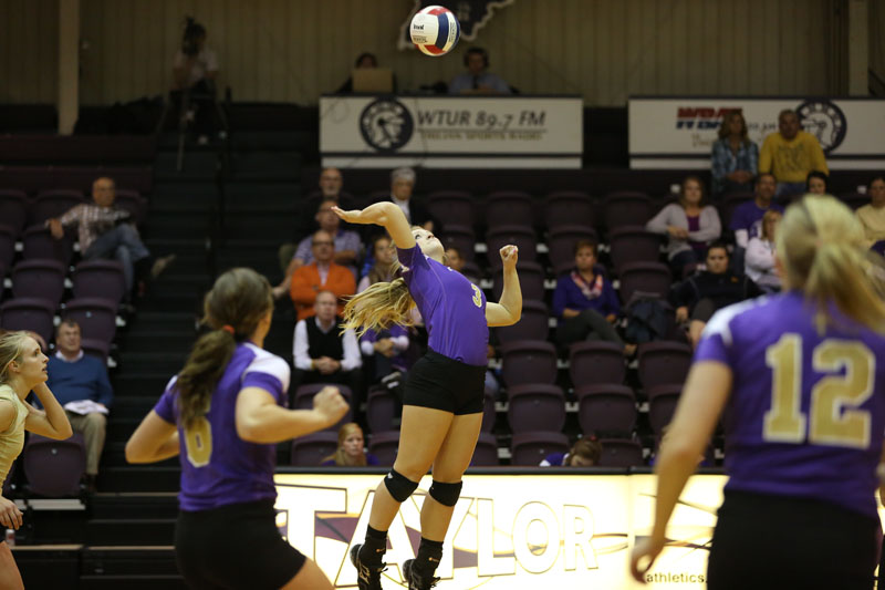 42nd Volleyball Sweeps Marian Photo