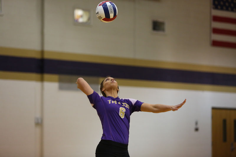 43rd Volleyball Sweeps Marian Photo