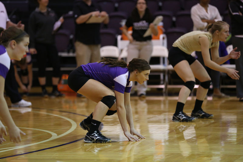 45th Volleyball Sweeps Marian Photo