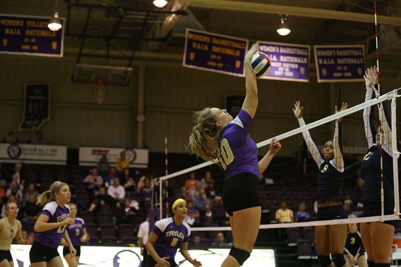 50th Volleyball Sweeps Marian Photo