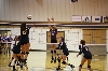 1st Volleyball Sweeps Marian Photo