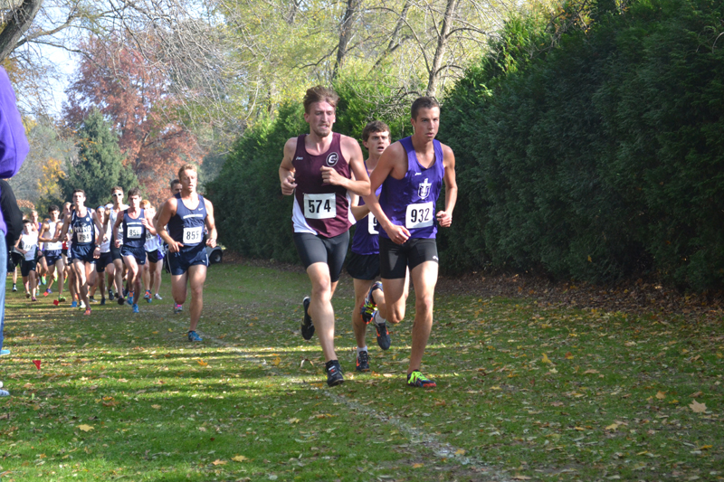 7th Men's Cross Country at Great Lakes Invite Photo