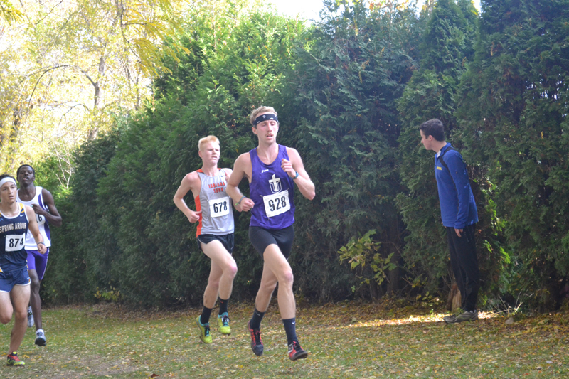 13th Men's Cross Country at Great Lakes Invite Photo