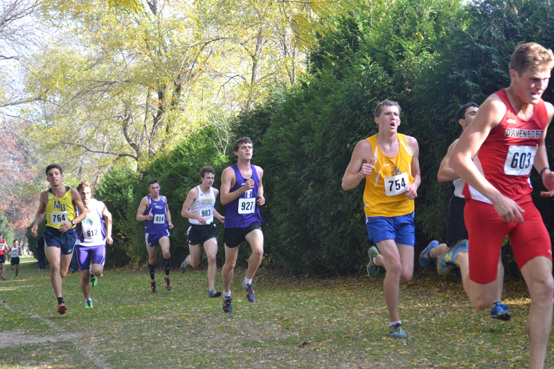 15th Men's Cross Country at Great Lakes Invite Photo