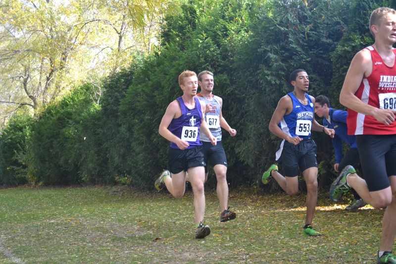 16th Men's Cross Country at Great Lakes Invite Photo