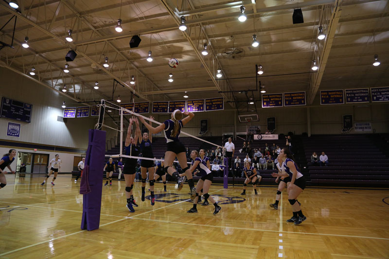 3rd Volleyball vs Saint Francis (CL Tournament) Photo