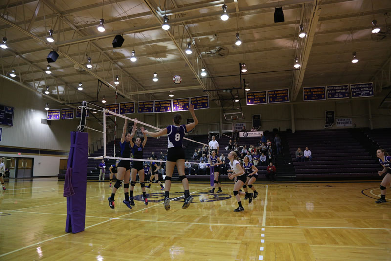 4th Volleyball vs Saint Francis (CL Tournament) Photo