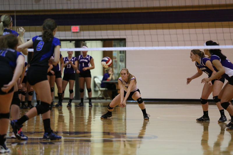 19th Volleyball vs Saint Francis (CL Tournament) Photo