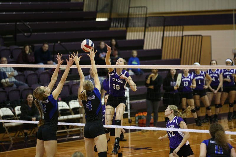 20th Volleyball vs Saint Francis (CL Tournament) Photo