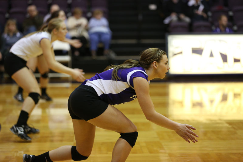 25th Volleyball vs Saint Francis (CL Tournament) Photo