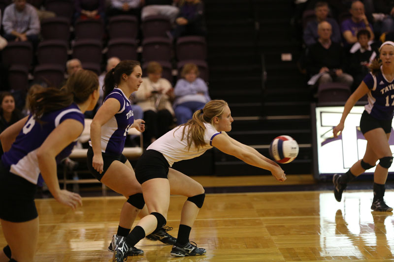 26th Volleyball vs Saint Francis (CL Tournament) Photo