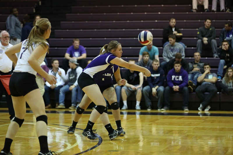 32nd Volleyball vs Saint Francis (CL Tournament) Photo