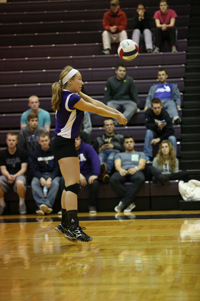 33rd Volleyball vs Saint Francis (CL Tournament) Photo