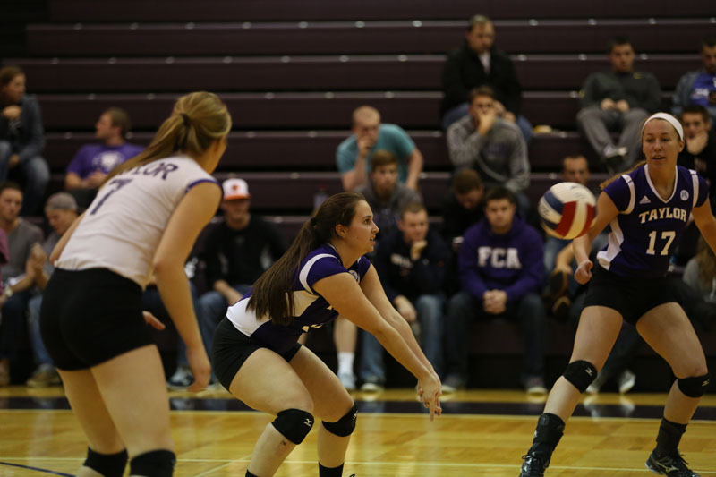 35th Volleyball vs Saint Francis (CL Tournament) Photo