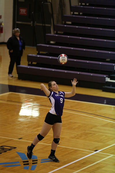 40th Volleyball vs Saint Francis (CL Tournament) Photo