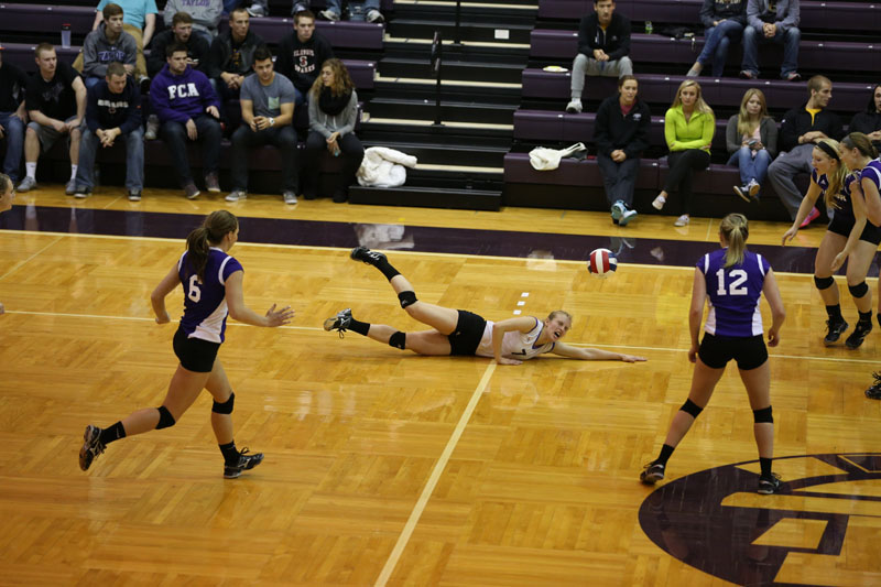 41st Volleyball vs Saint Francis (CL Tournament) Photo