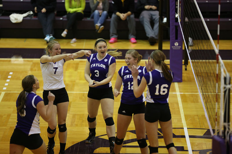 43rd Volleyball vs Saint Francis (CL Tournament) Photo