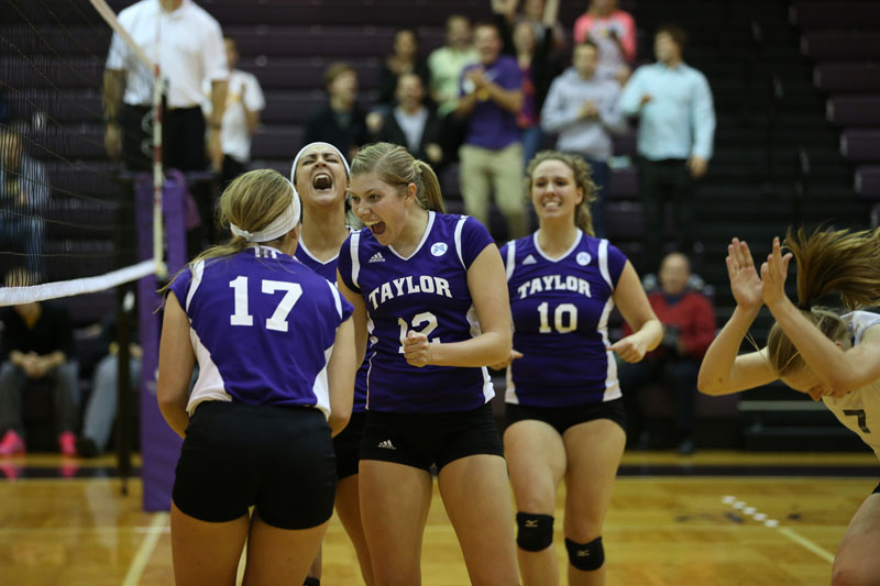 47th Volleyball vs Saint Francis (CL Tournament) Photo