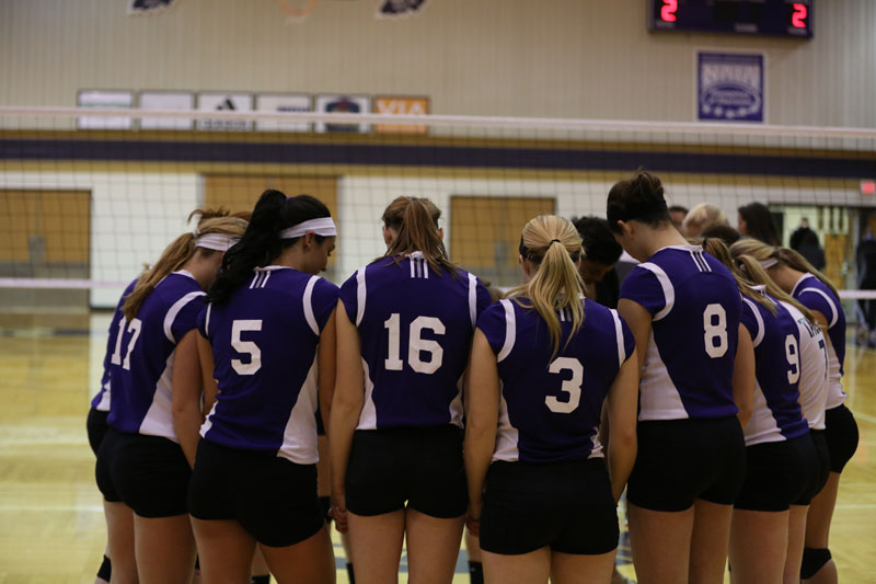 48th Volleyball vs Saint Francis (CL Tournament) Photo
