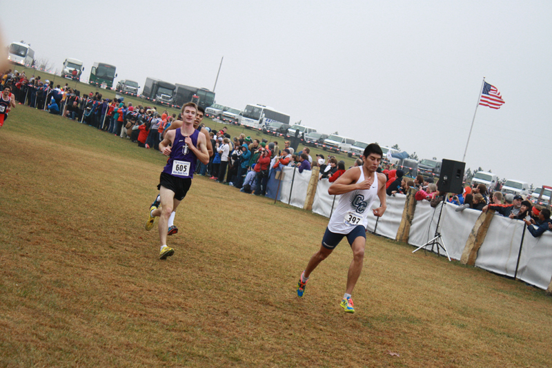 11th Men's CC Takes 15th at Nationals Photo