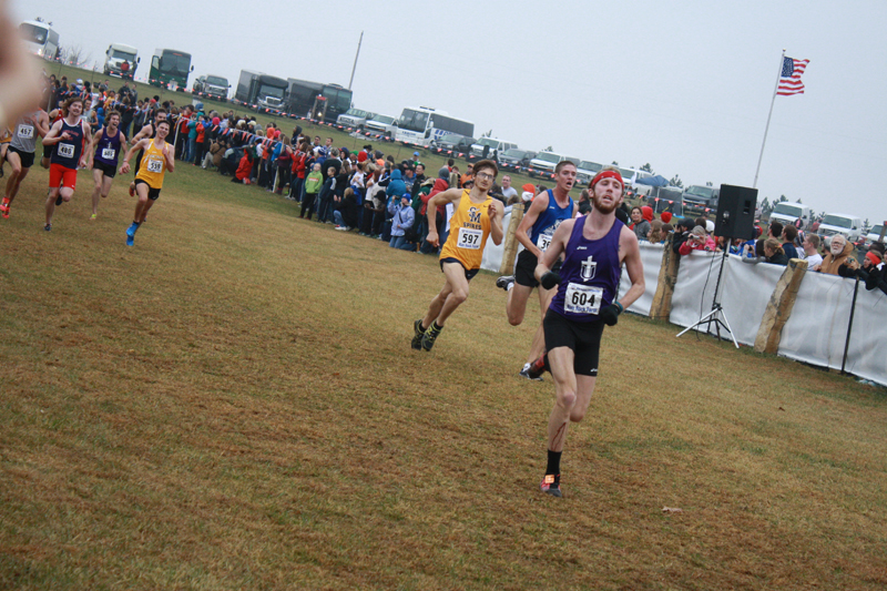 12th Men's CC Takes 15th at Nationals Photo