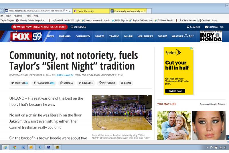 6th Silent Night Media Coverage Photo