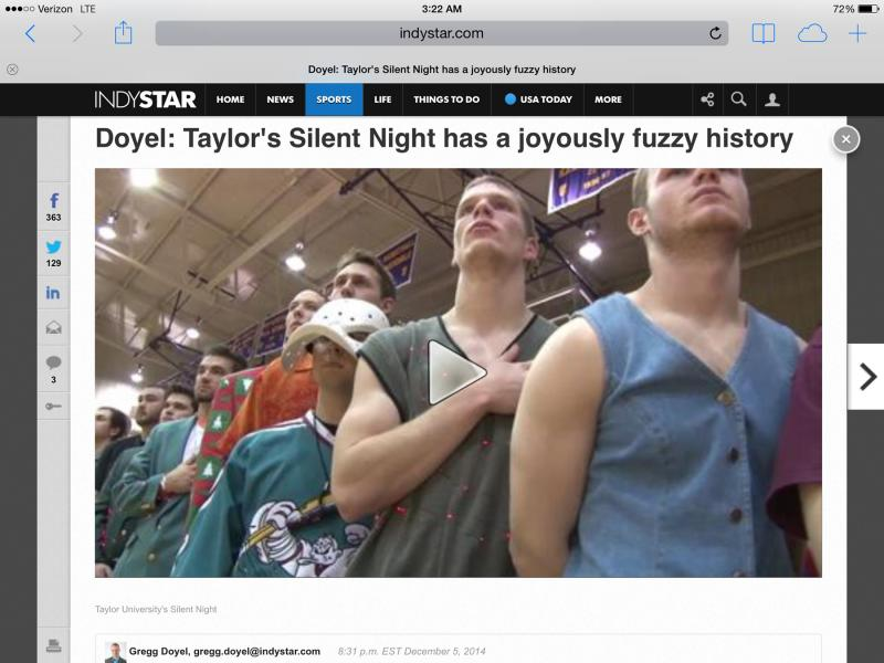 10th Silent Night Media Coverage Photo