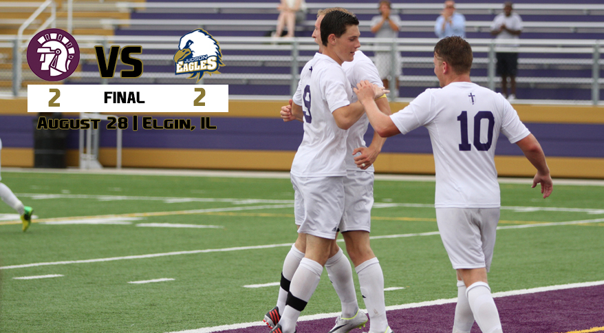 Taylor University - Taylor and Judson End in 2-2 Draw
