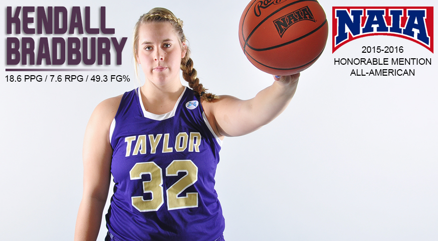 Photo for Bradbury Named Honorable Mention NAIA Division II All-American