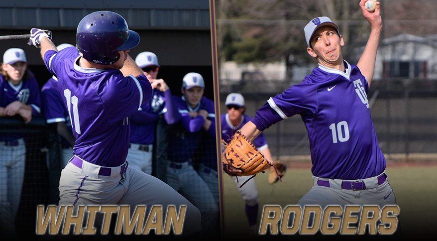 Photo for Whitman and Rodgers Sweep CL Weekly Honors
