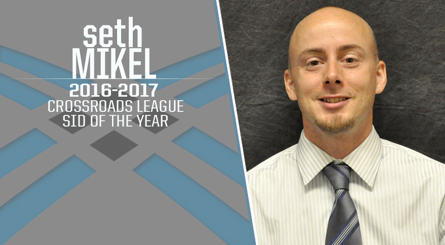 Photo for Mikel Honored as Crossroads League SID of the Year