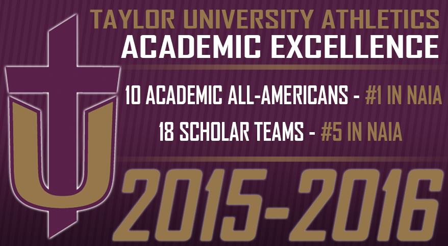 Photo for Taylor Repeats as Top School in NAIA for Academic All-Americans
