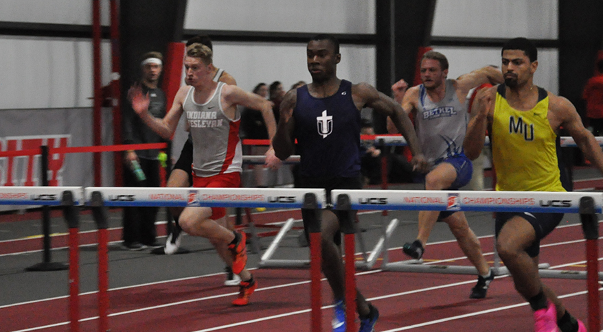 Photo for Anthony Advances to Finals at Indoor National Championships