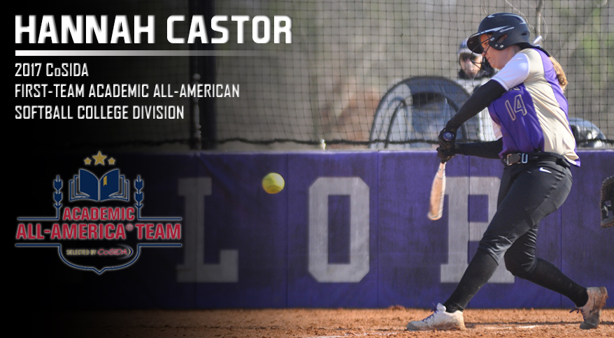 Photo for Castor Honored as CoSIDA First-Team Academic All-American