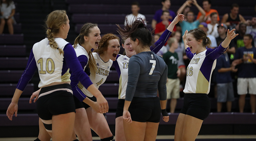 Photo for Taylor Volleyball to Host Free Clinic