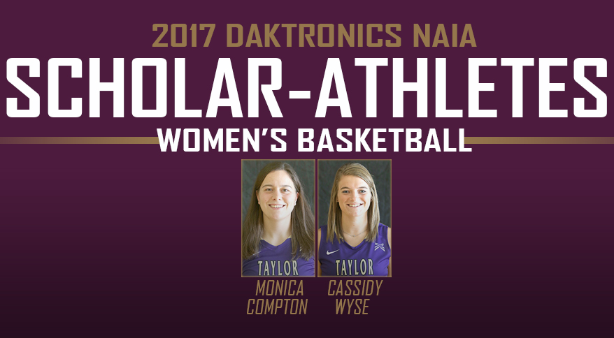 Photo for Compton, Wyse Recognized As NAIA Scholar-Athletes