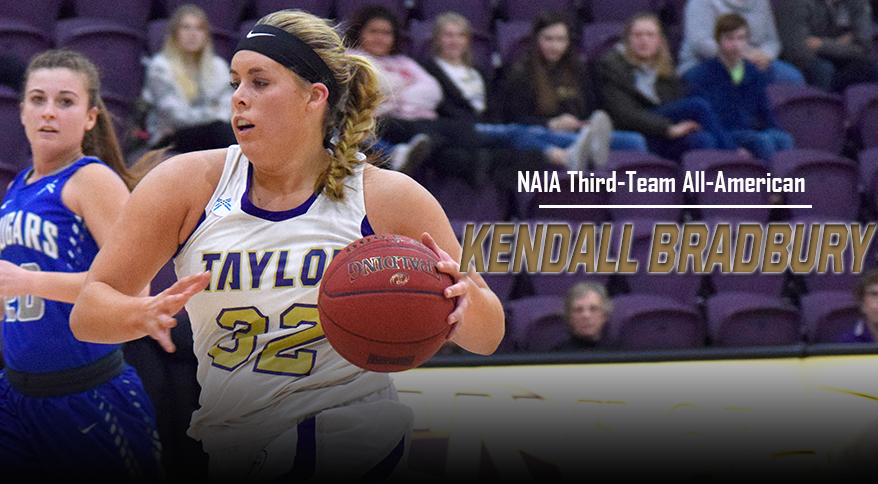 Photo for Bradbury Earns NAIA Third-Team All-American Honors