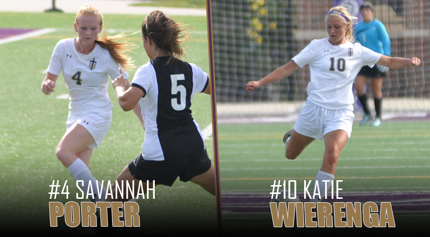 Photo for Porter, Wierenga Earn NAIA All-American Honors